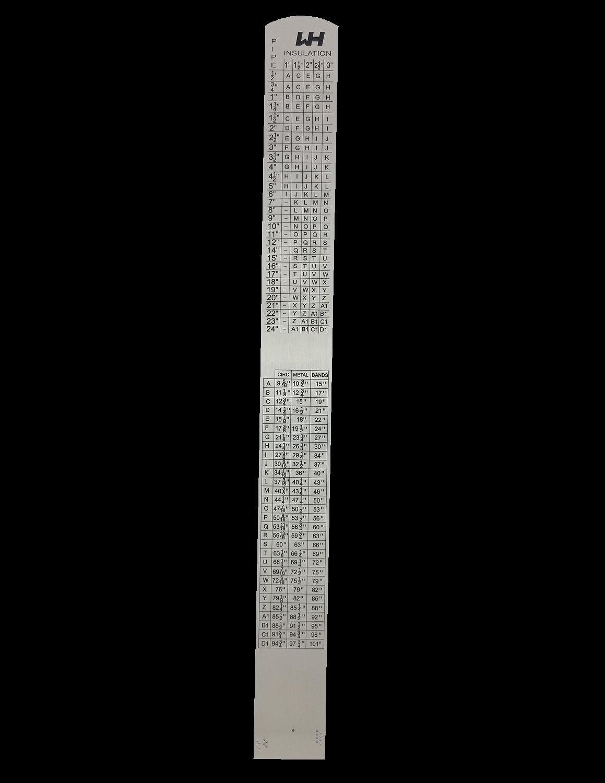 1 Foot Wh Ruler Industrial Tools Wh Ruler