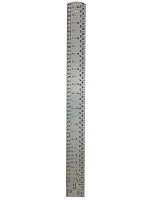2 Foot folding WH ruler (.5mm thick)
